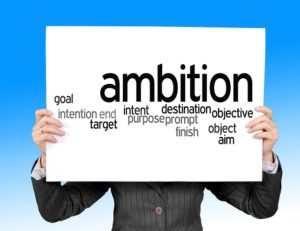 Tame Your Ambition